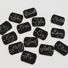 diy chalkboard place cards u2014 meadow at dusk