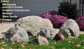 artificial rocks landscaping supplies rocks and statuary in