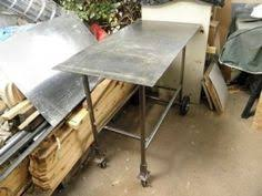 diy portable welding table folding welding table by rmm727 homemade folding welding table