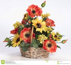 plastic flowers plastic acrylic flower arrangement royalty free stock photography