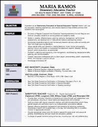 elementary resume template resume exles elementary musiccityspiritsandcocktail