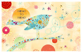 friend to friend greeting card happy birthday printable card