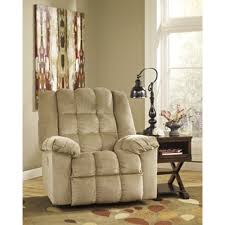 signature designs by ashley ludden blue rocker recliner free