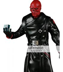 halloween costumes captain america captain america first avenger red skull costume coat