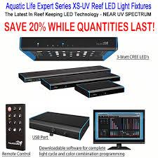 Uv Light Fixtures Aquatic Expert Series Xs Uv Aquarium Light Fixtures