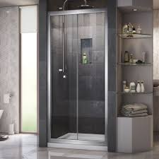 36 Shower Doors Dreamline Butterfly Frameless Bi Fold Shower Door 36 In By 36 In