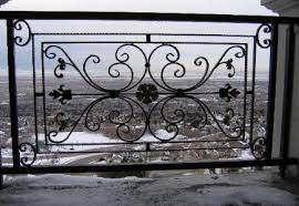 salt lake city utah ornamental iron railing fence spiral stairs