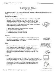 label computer parts lesson plans u0026 worksheets reviewed by teachers
