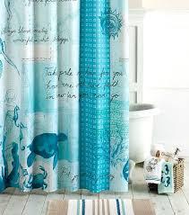 Blue Kitchen Curtains Kitchen Amusing Beach Themed Kitchen Curtains Seashell Shower