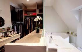 chambre salle de bain dressing salle de bain ouverte sur dressing meilleur idées de conception de