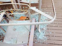 Shattered Glass Table by Patio Table Glass Shattered Icamblog