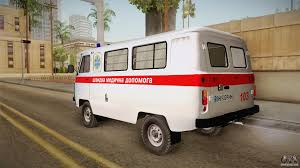 uaz 452 uaz 452 ambulance of the city of odessa for gta san andreas