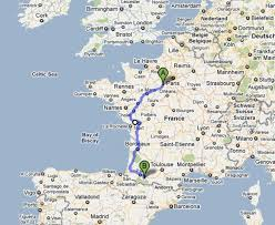 Rennes France Map by Mary Slingo Is Fundraising For Hcpt