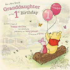 for a special niece on your 1st birthday card amazon co uk