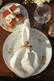 how to make felt acorn napkin rings for thanksgiving tikkido