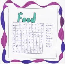 food word searches templates kiddo shelter