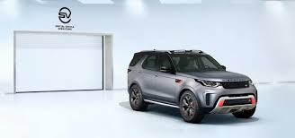 land rover discovery drawing new land rover discovery svx surfaces early with a v8 engine