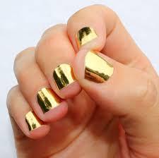 metallic nail foil wraps nail wraps by sogloss on etsy