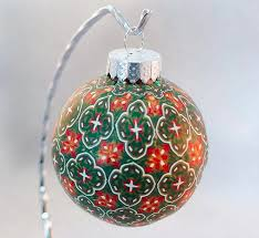 creator s how to cover a glass ornament with square
