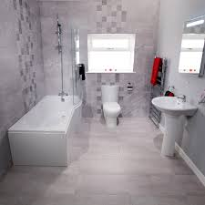 Shower Packages Bathroom Our Classic 1700mm And 1500mm P Shaped Shower Baths Combined With