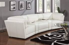 Curved Sofa Leather Small Curved Leather Sectional Tedx Decors The Awesome Curved