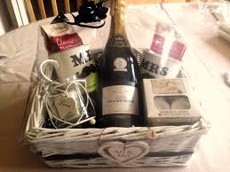 His And Hers Wedding Gifts Wedding Present Hamper Idea His And Hers Theme With Champagne