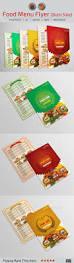 food menu flyer food menu menu and print templates