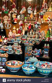 christmas craft market at ludwigsberg germany bright cheerful