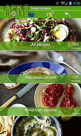 appli cuisine android snack recipes for android free at apk here store apkhere mobi