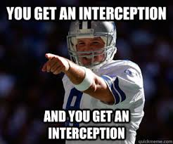 Tony Romo Interception Meme - page 3 official nfl week 3 thread