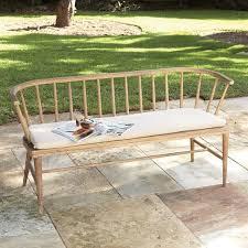 green bench cushion dexter outdoor bench cushion west elm