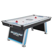 84 air hockey table triumph blue line 84 air hockey table with inrail scoring 45 6808
