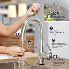 How To Remove Grohe Kitchen Faucet by Grohe Ladylux Cafe Touch Single Handle Pull Down Sprayer Kitchen