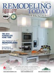 Home Advisor Distinctive Design Remodeling Remodeling Today Triangle By Remodelinform Issuu