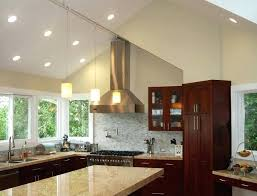 vaulted ceiling kitchen ideas cathedral ceiling lighting ideas kitchen lighting ideas for