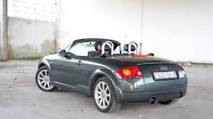 audi tt roadster mk1 roof youtube