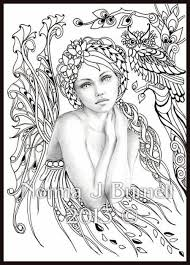 norma burnell blank coloring pages fairy tangles coloring