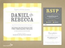 invitation maker app online invitation maker and custom wedding invitation set yellow