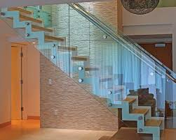 7 best retail straight staircase with glass balustrade and