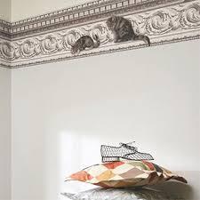 frise pour chambre papiers peints tapisserie murale design et haut de gamme en vente