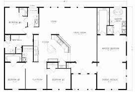 small 4 bedroom floor plans house plans 4 bedroom lovely pole building house plans small barn