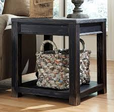 distressed black end table distressed black square end table christian s table