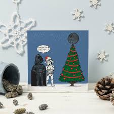star wars christmas cards by cardinky notonthehighstreet com