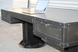metal bistro chair splendid industrial steel desk with drawers 3