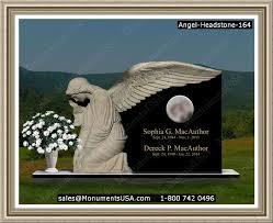 unique headstones granite markers designs