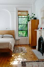 brownstone interior designer lena corwin at home in fort greene bedrooms lights and