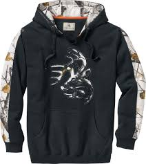 mens snow camo outfitter hoodie legendary whitetails