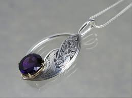 Engraved Necklaces Silver Bonsai Modern Heirloom Jewelry By Ben And Kathryn
