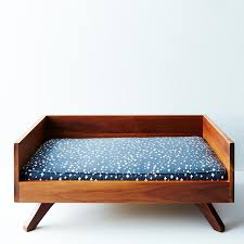 Mid Century Beds Mid Century Modern Dog Bed On Food52
