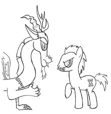 discord vs doctor whooves by staticwave12 on deviantart